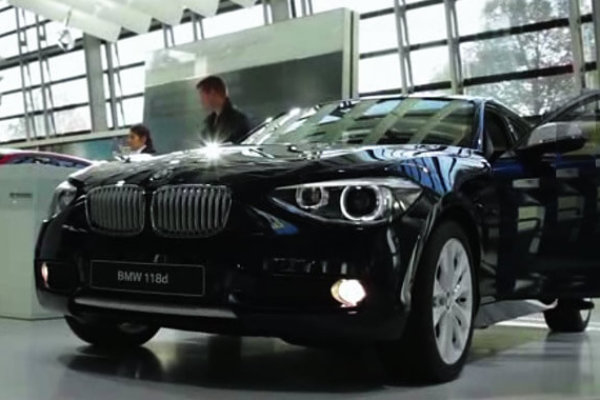 BMW 1er Test Drive Trailer